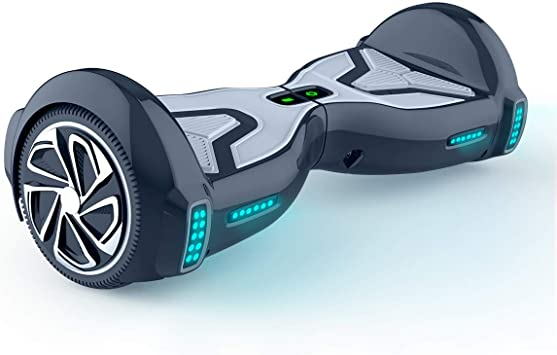 TOMOLOO Hoverboard with Bluetooth Speaker UL2272 Certified Self Balancing Electric Scooter 6.5 Two-Wheel Hover Boards with LED Lights for Kids and Adult