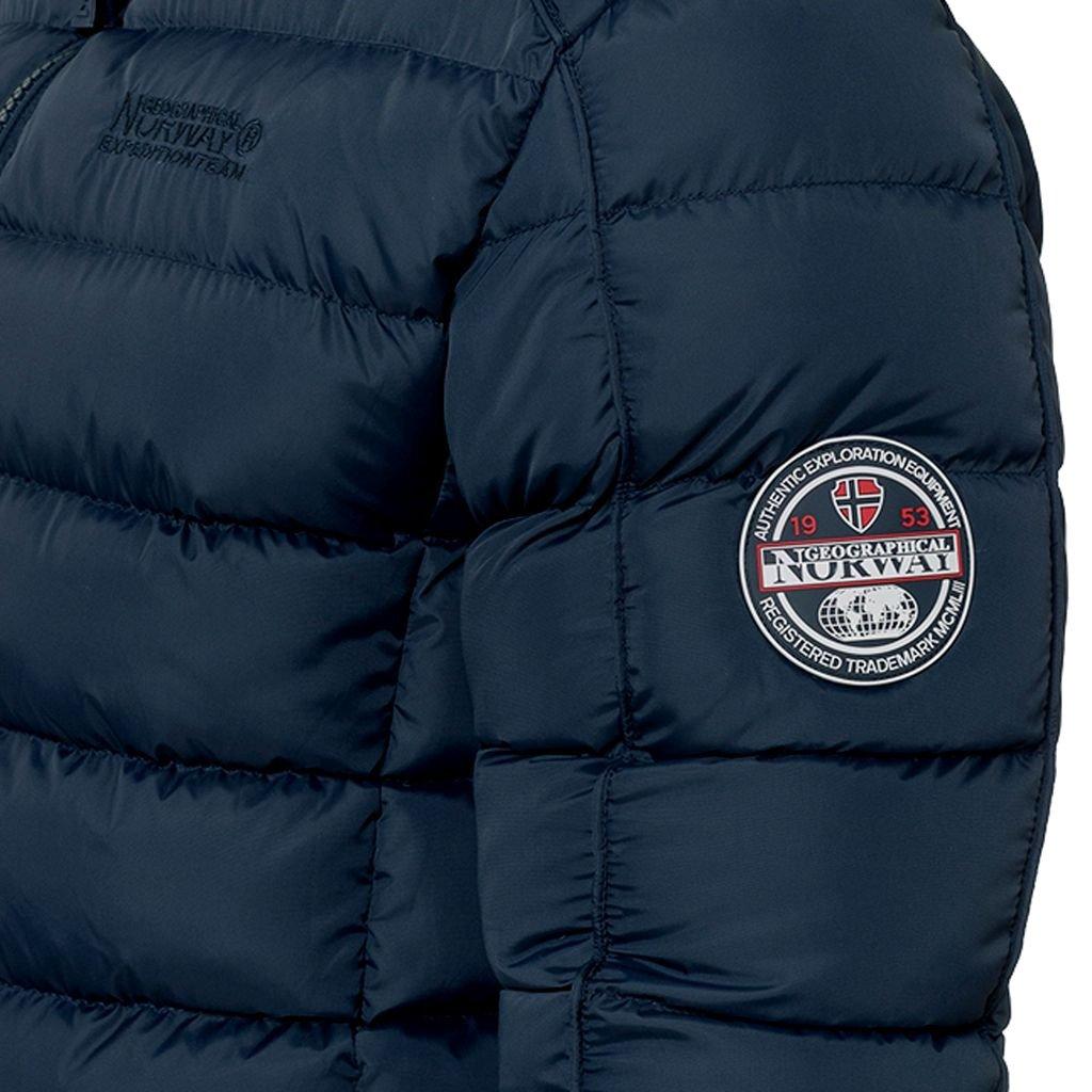 Piumino Beckam Geographical Norway Uomo Jacket Giubbotto imbottito Men Anapurna Blu-L
