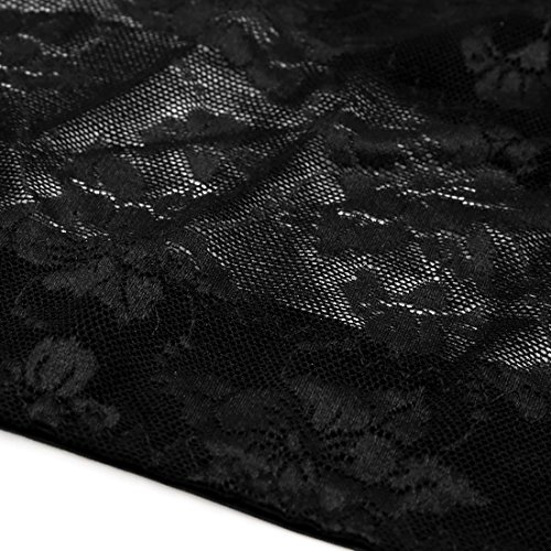 Amazon.com: eDealMax Negro Talla L jorobada postura correcta del pecho del Sujetador de apoyo del corsé Shaper Los apoyos Para las señoras: Health ...