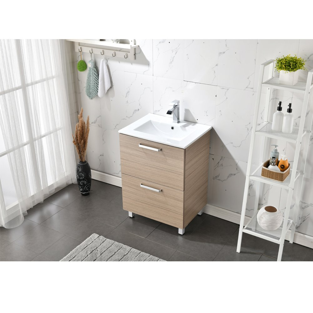 RESSORTIR bathroom vanity Dark Walnut   LAVORIST
