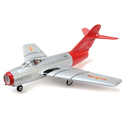E-flite UMX MiG-15 28mm EDF Jet BNF Basic with AS3X and Safe Select,  EFLU6050