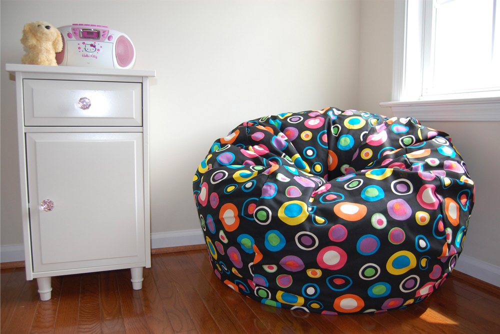 Amazon Ahh Products Bubbly Jelly Bean Cotton Washable Large Bag Chair Toys Games