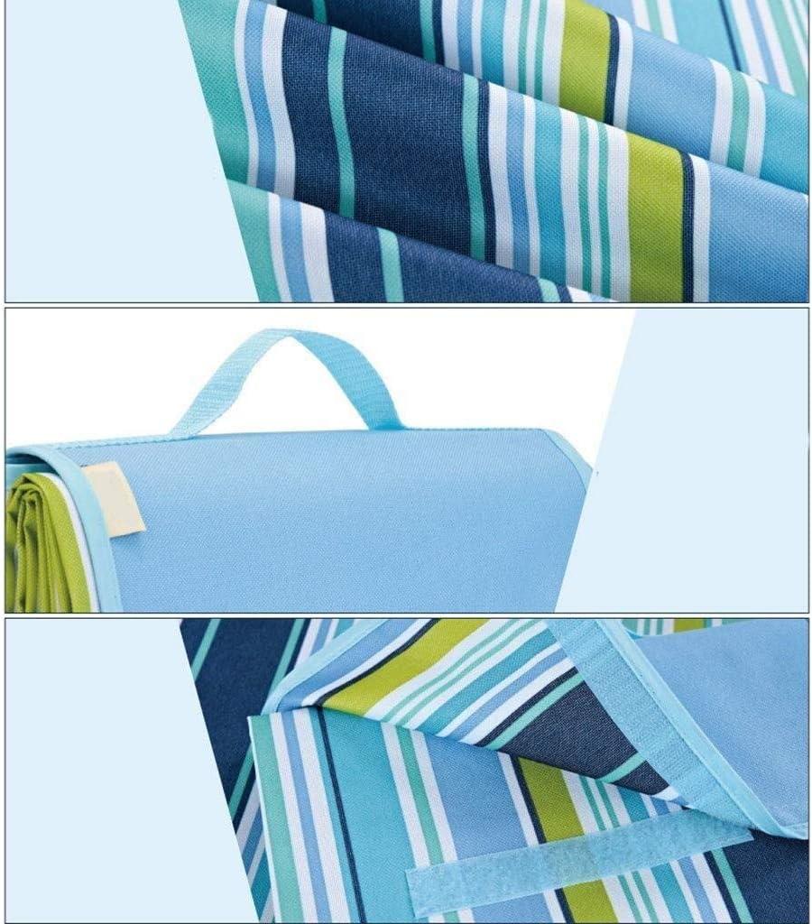 AJZGF Coperta da Picnic Pieghevole Coperta da Picnic Fodera Impermeabile Picnic Camping Beach Carpet - Army Green 145 * 180cm Tappeto da Viaggio Impermeabile (Color : A) A