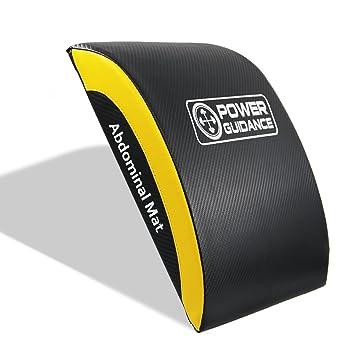 POWER GUIDANCE AB Abdominal Mat, Colchoneta para abdominales, Esterilla de ejercicio y entrenamiento Core alfombrilla para Full rango de movimiento AB ...