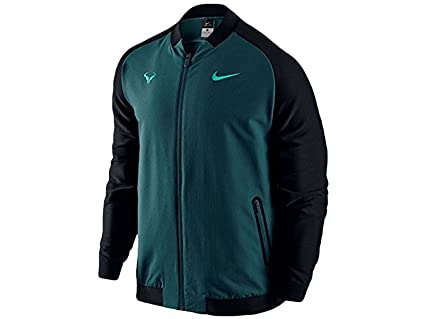 Amazon.com: NIKE Mens Premier Rafael Nadal Tennis Jacket ...