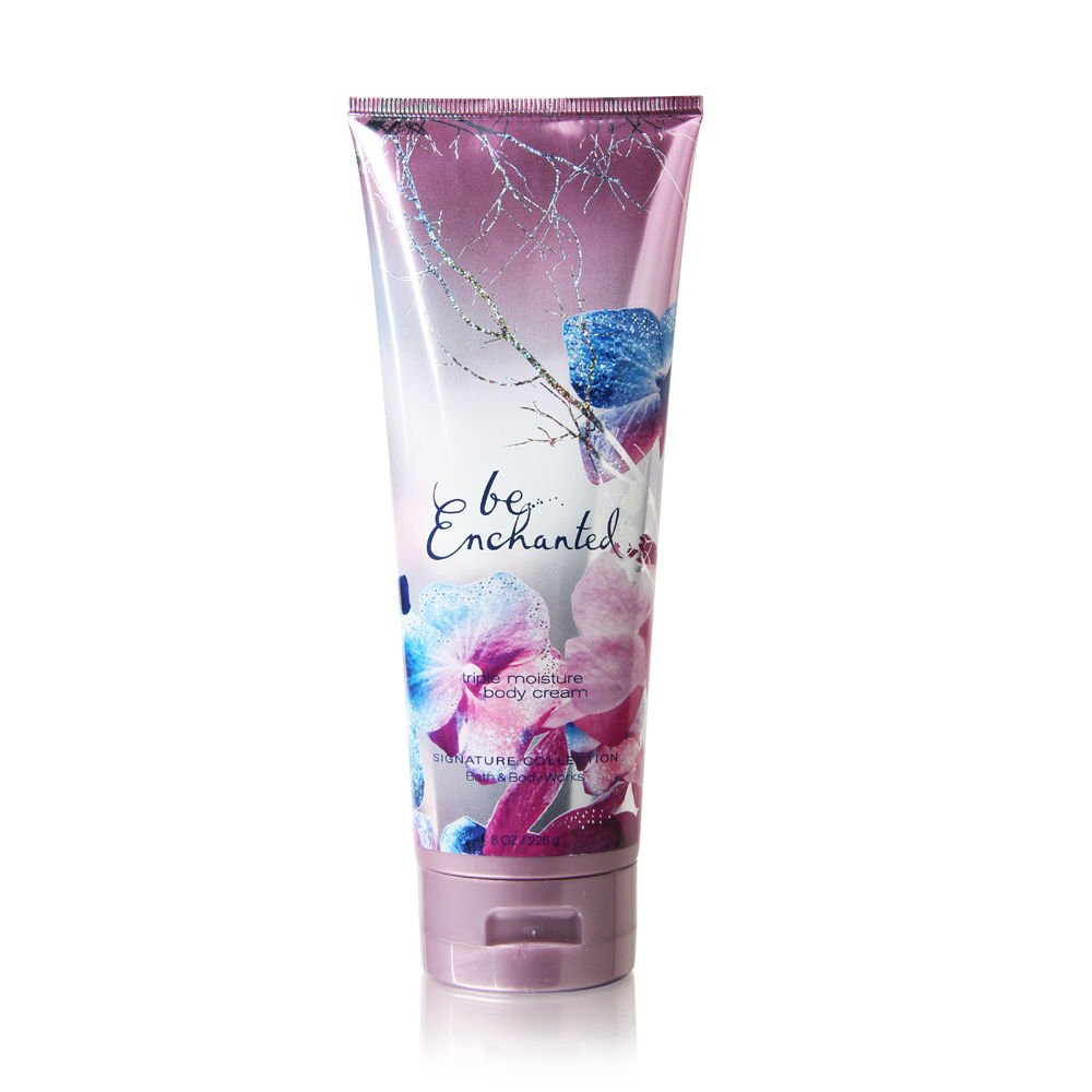 Bath & Body Works Signature Collection, Triple Moisture Body Cream, Be Enchanted, 8 Ounce