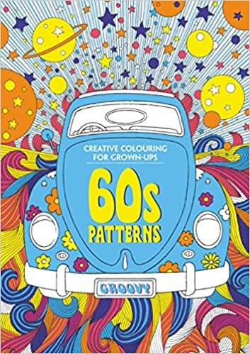 40s Patterns Creative Colouring For Grownups 40 Unique 60s Patterns