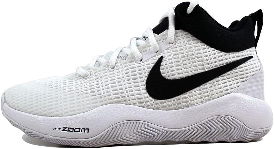 15a38b9f4362 Mens Zoom Rev TB Basketball Sneakers White Black 922048-100