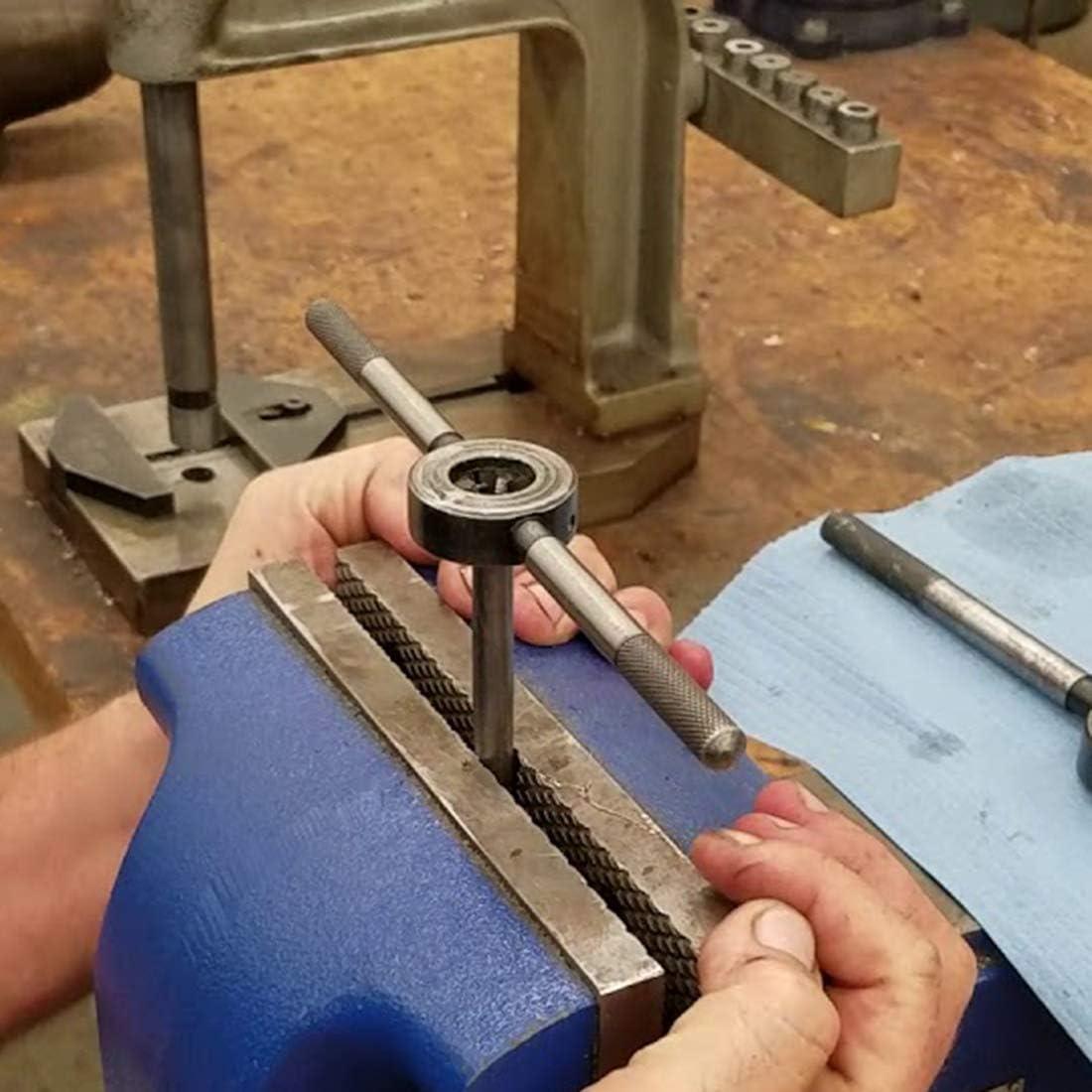 uxcell M20 X 2.5 Metric Round Die Left-Hand Thread Machine Die 45mm OD Round Threading Die Alloy Steel