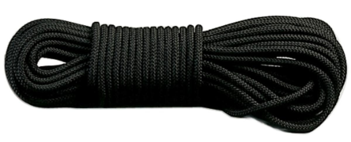 Rothco General Purpose Utility Rope (50-Feet/3/8-Inch, Black)