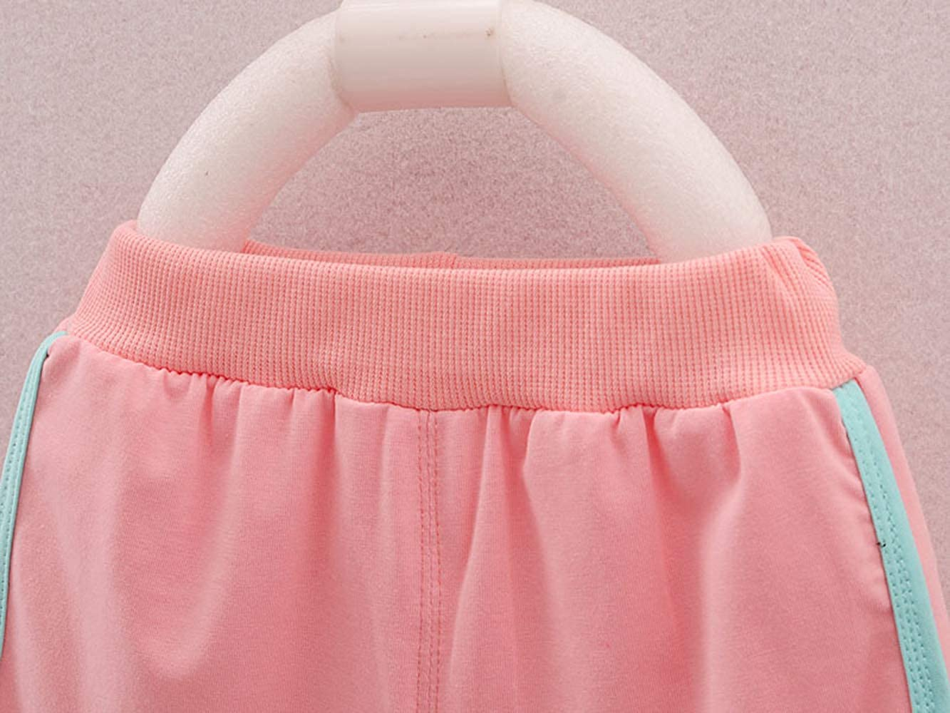 Short Pants MH-Lucky Baby Girl Clothes Outfits Short Sets 2 Pieces with T-Shirt