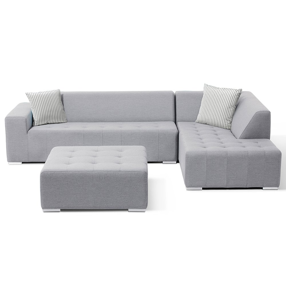 Amazon.com : Ove Decors 3PC OVE Eden 3-Piece Outdoor Seating ...