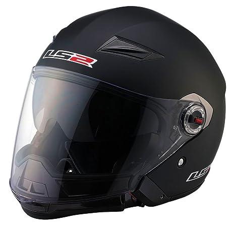Amazon.com: ls2 helmets OF569 Solid casco de cara abierta, L ...