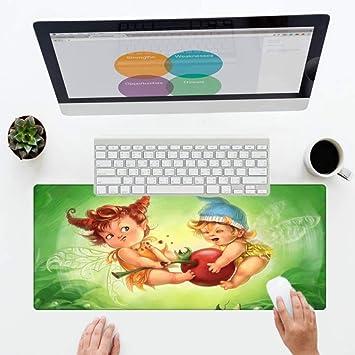 Mouse Pad Art Fairy Tale World Print Wallpaper Alfombrillas ...