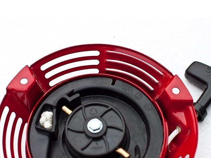 Exterior Piezas Recoil Arrancador Montaje para Honda GXV160 ...