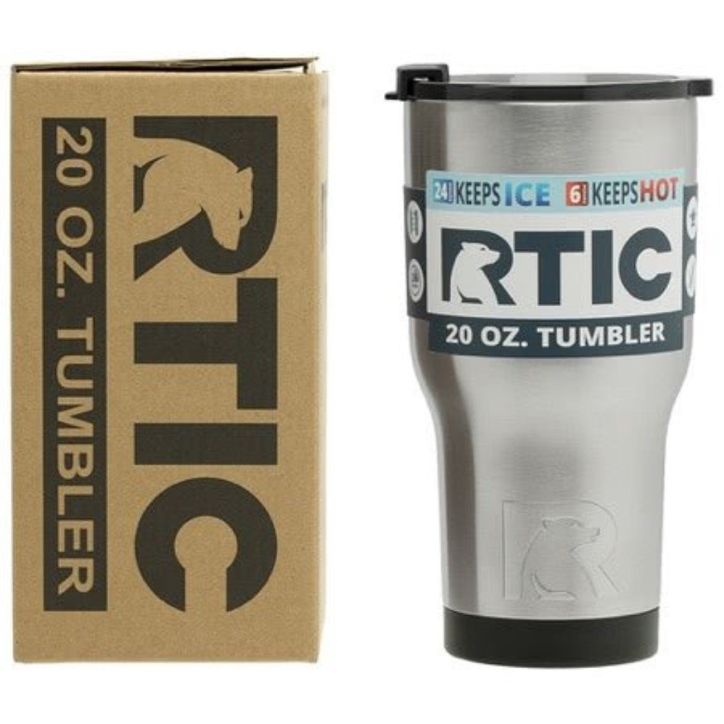 RTIC 20 Oz Stainless Steel Tumblers SET OF 2 20OZ