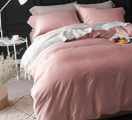 WuDee edredón Invierno Cama 180,Juego de sábanas de algodón Satinado de Fibra Larga de Cuatro Colores @ K_Increase (220 * 240): Amazon.es: Hogar
