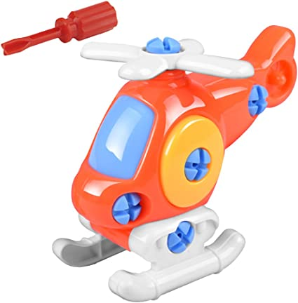 Aircrafts Early Learning Educational Toys Detachable Airplane Kids//Baby