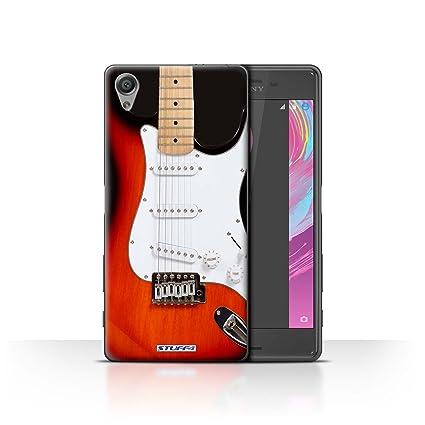 Stuff4® Phone Case/Cover/Skin/sxpxpf/Guitar Collection Rojo Guitarra eléctrica