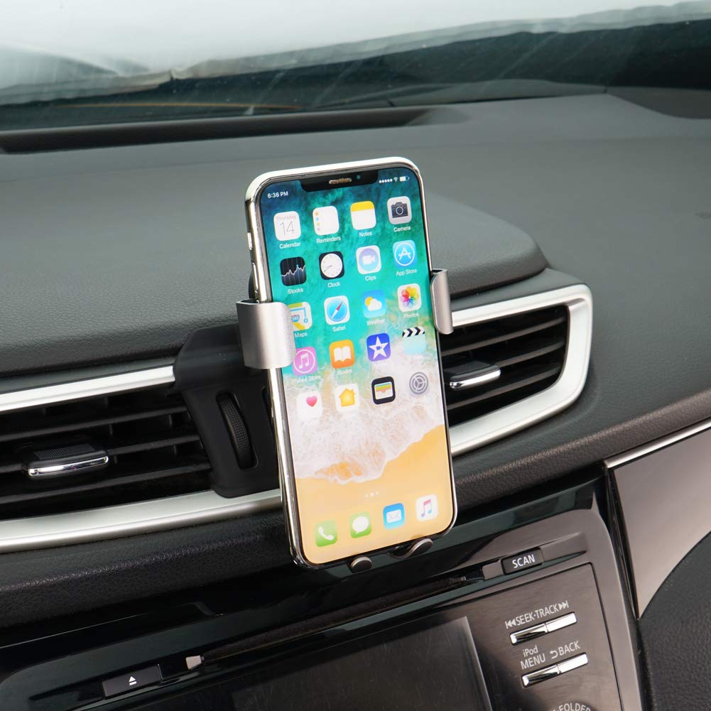 Phone Holder for Nissan Rogue,Dashboard Air Vent Adjustable Cell Phone Holder for Nissan Rogue 2019 2018 2017,Car Phone Mount for iPhone 7 iPhone 6s iPhone 8,for Samsung,Smartphone for 4.7//5 in CLEC