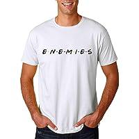 Enemies no Friends Parody TV - Camiseta Hombre Manga Corta