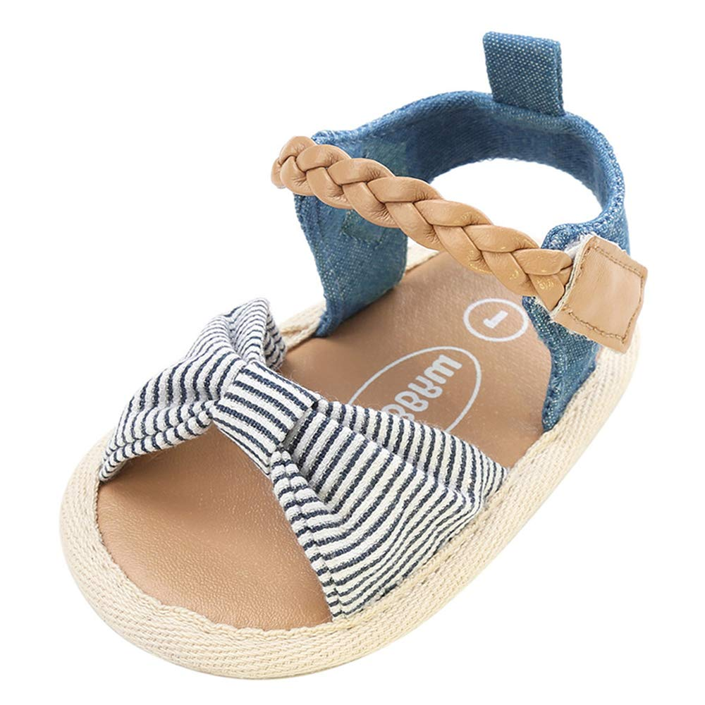 COSANKIM Baby Girls Boys Sandals Anti-Slip Rubber Sole Infant Summer Outdoor Shoes Toddler First Walkers Crid Shoes