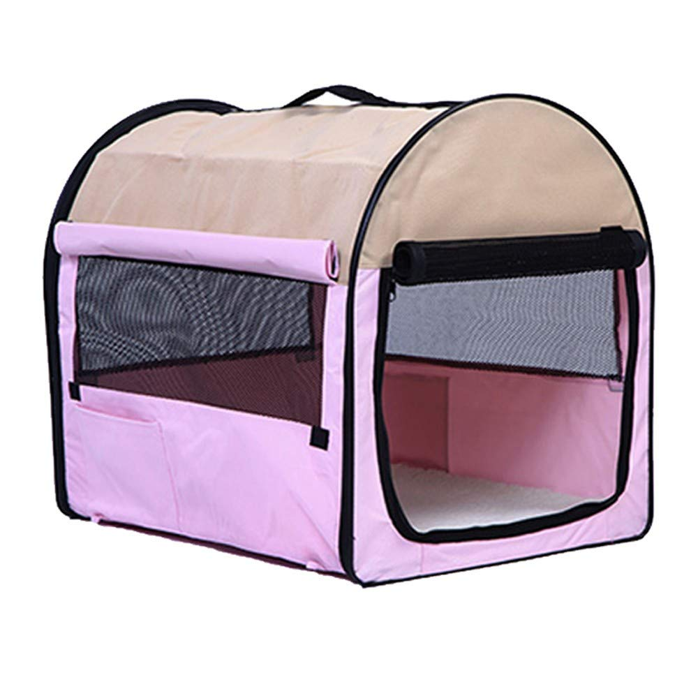 M Pet Bag Cat Bag Out Bag Cat Bag Out Carrying Bag Dog Box Car Travel Bag Backpack Folding, M