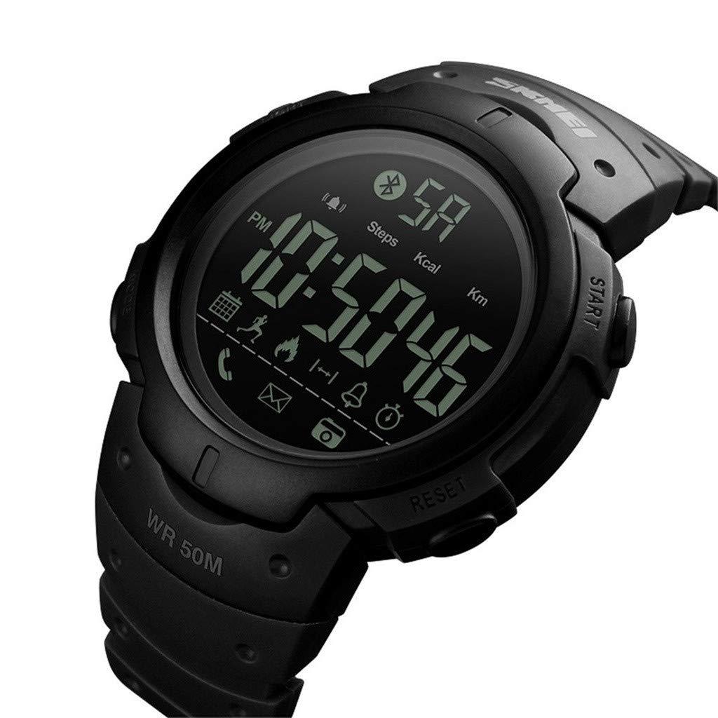 SmartWatch 50M impermeable Fitness pulsera de reloj para hombres y ...