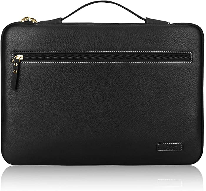 The Best Solo 16 Inch Leather Laptop Sleeve