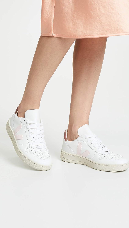 Mode V10 Leather Femme Blanc Veja Baskets T3JFK1ulc5