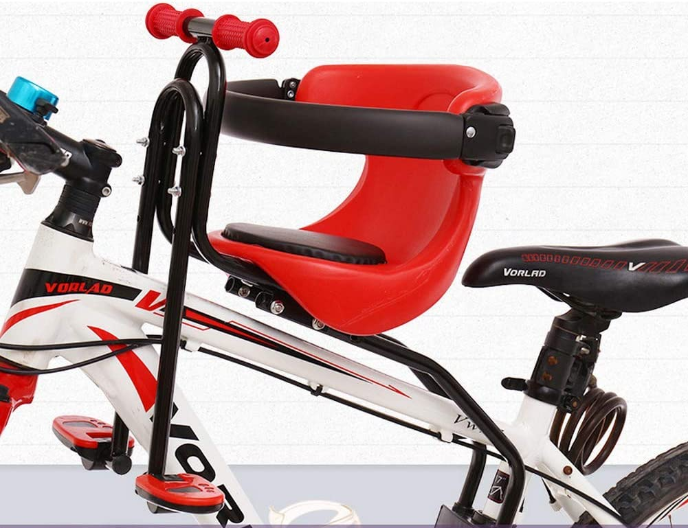 Kids Baby Front Bike Seat Children Bicycle Safety Chair Carrier Saddle Back Rest