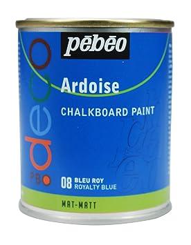 pebeo pintura de pizarra ml color azul