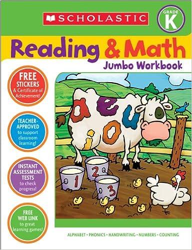 Amazon.com: Reading & Math Jumbo Workbook: Grade K (9780439785990 ...