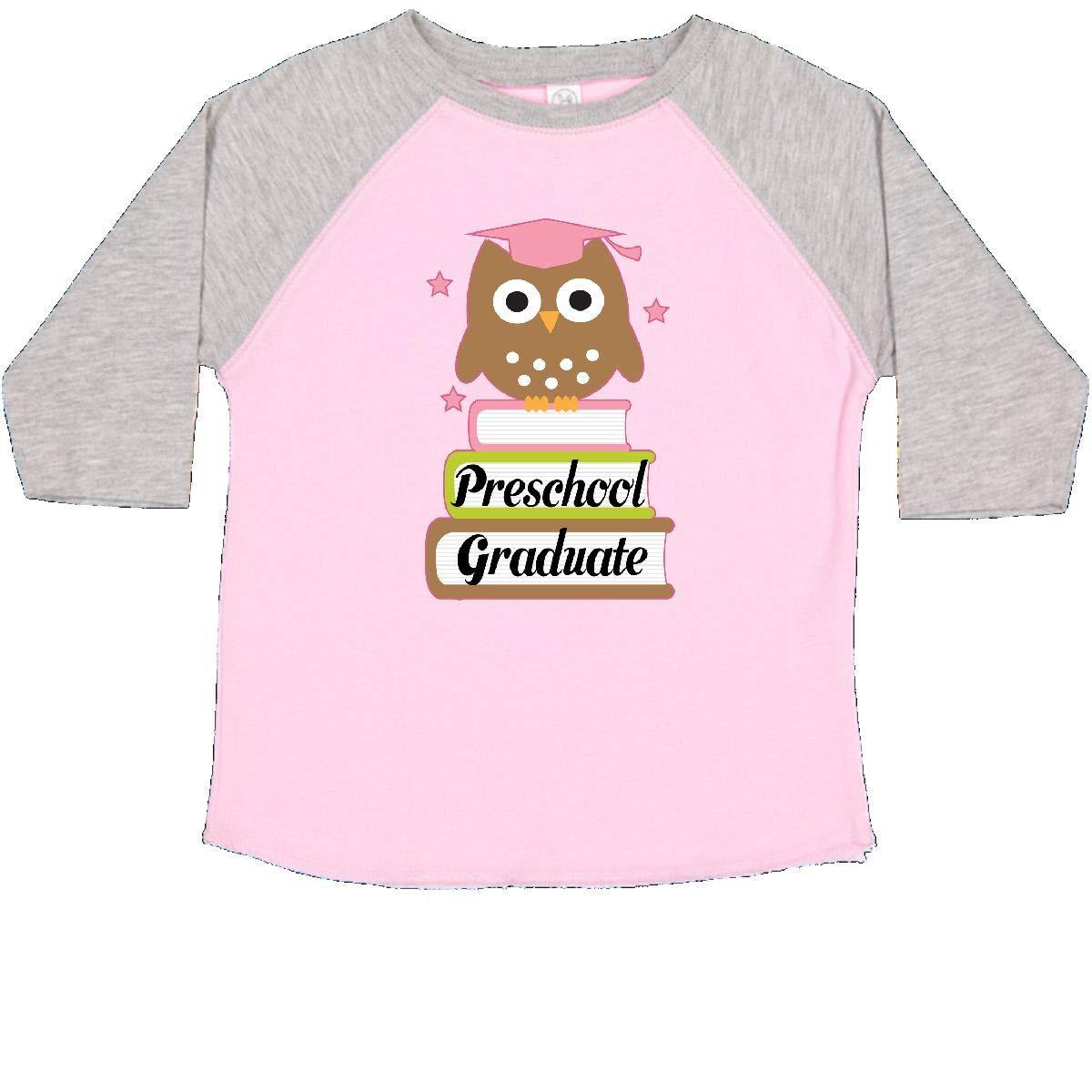 inktastic Preschool Graduate Cute Owl Toddler T-Shirt