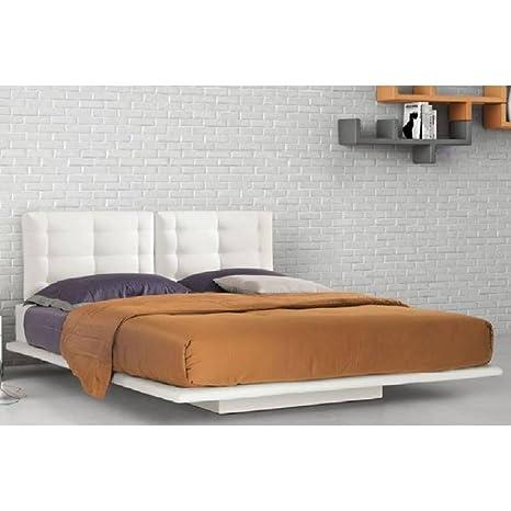 ITALIAN SPIRIT Cama de Alta definición Paris con cabecero de Cama reclinable Dormir 160 * 190