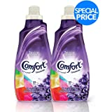 Comfort Concentrated Fabric Softener Lavender & Magnolia, 1.5 Litre (Twin Pack)