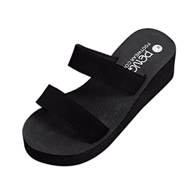 a484db180 VEMOW 2018 Spring Summer New UK Sandals for Women Ladies Girls Sexy Daily  Black Red Brwon Green Eva Rubber Bohemia Beach Platform Bath Slippers Wedge  Slope ...