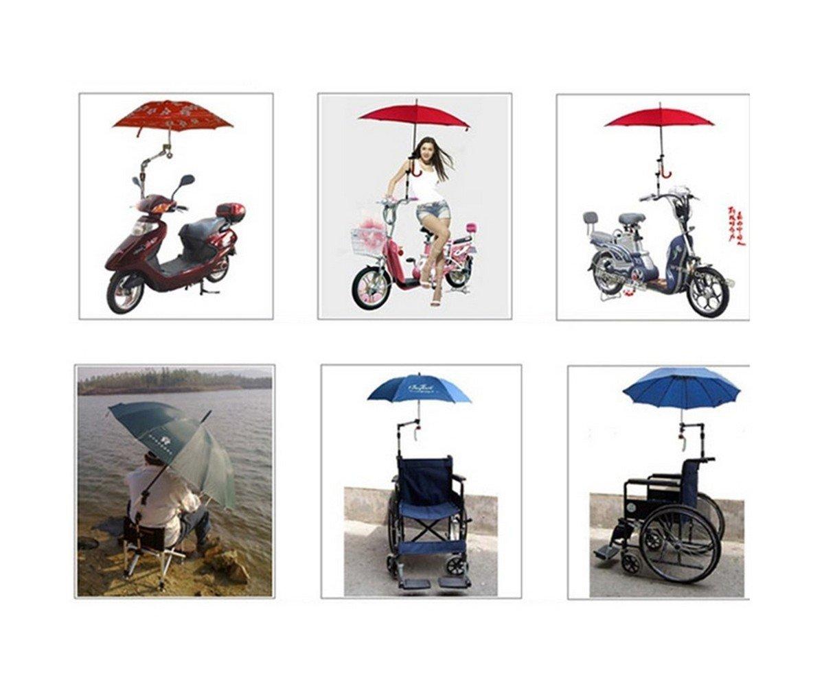 Soporte para paraguas totalmente ajustable, de T2O®, con sistema ...
