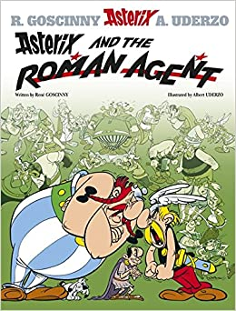 Book Asterix and the Roman Agent
