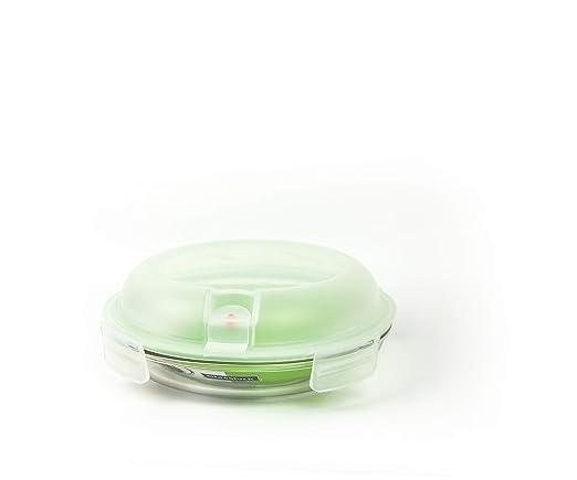 Glasslock (mpcb de 080 a, 800 ml) redondas – Recipiente hermético de cristal Air tipo – Microondas