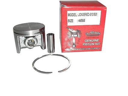 Amazon.com: Jonsered 510, 520sp, Kit de pistón de 525 44 mm ...