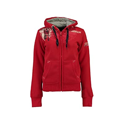 Geographical Norway Sweat Femme Gasmine Rouge