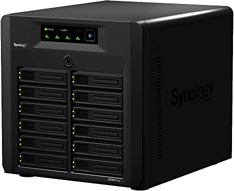 Synology Nas Server Scales Up To 100tb For Large Scale Business Amazon Co Uk Computers Accessories