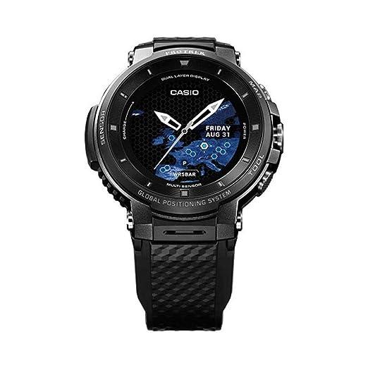 Watch Casio Pro Trek Smart Wsd F30 Bkaae Amazon Co Uk Watches