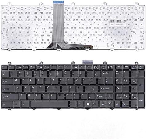 H HILABEE Keyboard Teclado Pieza de Reparación para MSI ...