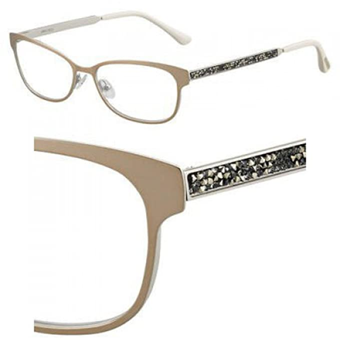 937edb9148c Eyeglasses Jimmy Choo Jc 203 0VZH Matte Bronze  Amazon.ca  Clothing    Accessories