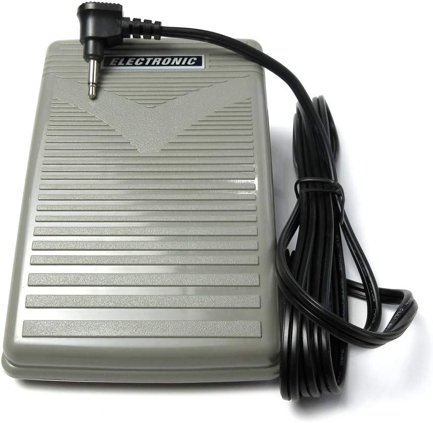 Control de pie para máquinas de coser computarizadas, pedal de 1 pin Janome Elna Brother