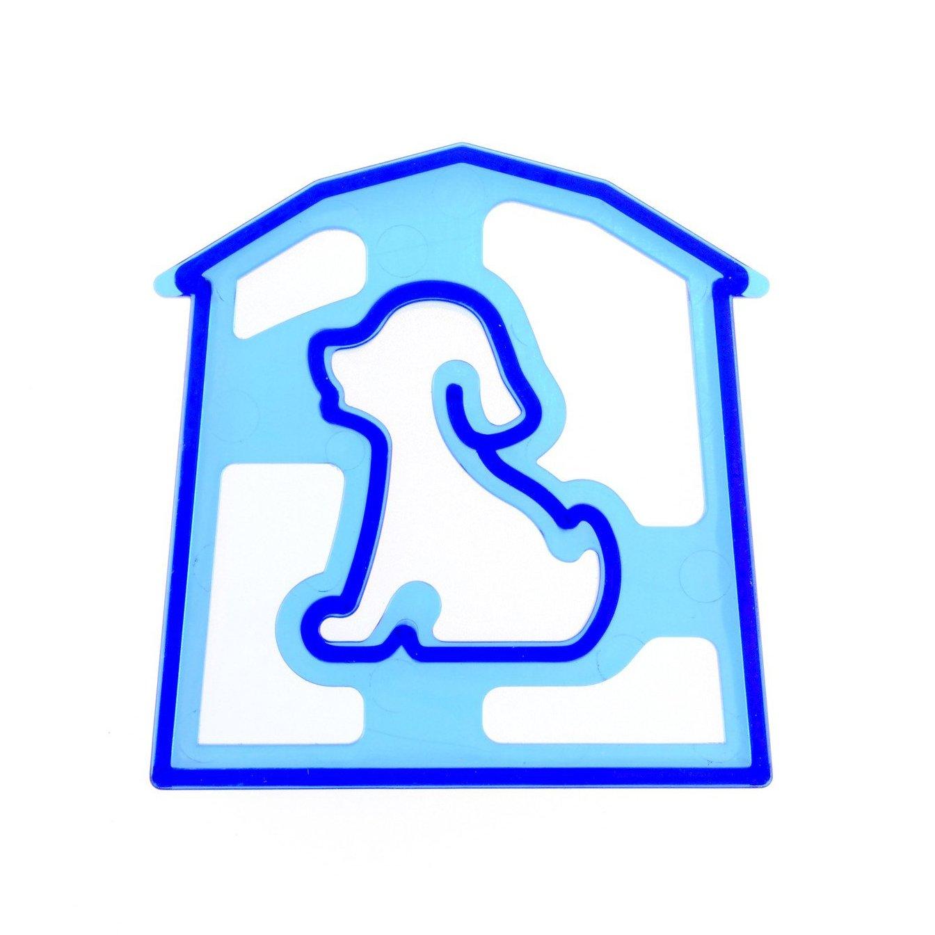 Dog Shaped Sandwich Cutter Cookie Biscuit Cutter - Blue NDRTJM TRTA11A