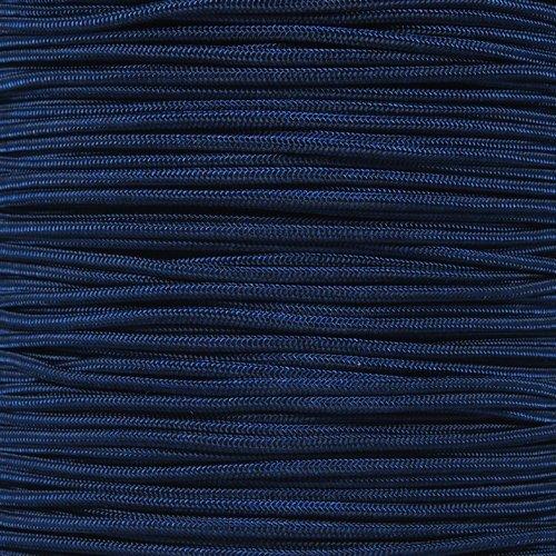 (パラコードプラネット) Paracord Planet 万能5連コード ナイロンコア 引張強度275ポンド パラコードロープ3/32インチ (2.38mm直径) B00J2ZF068 25 Feet|ダークブルー(Midnight Blue) ダークブルー(Midnight Blue) 25 Feet