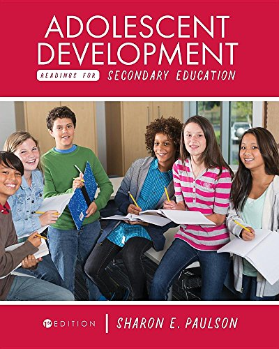Adolescent Development Readings for Secondary Education
